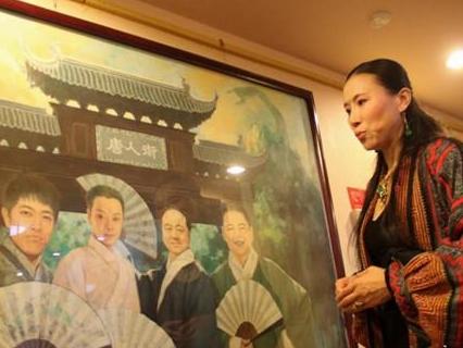 《落榜生》作者、旅法著名油画家王俊英