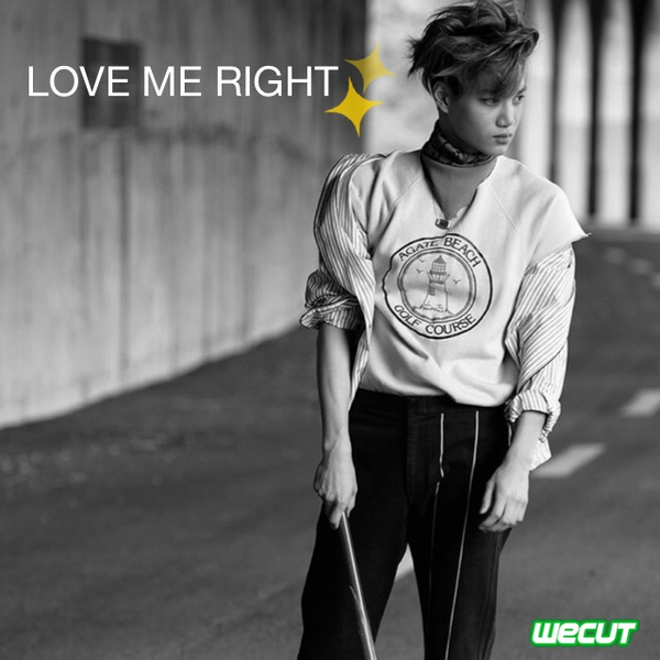 love me right歌谱