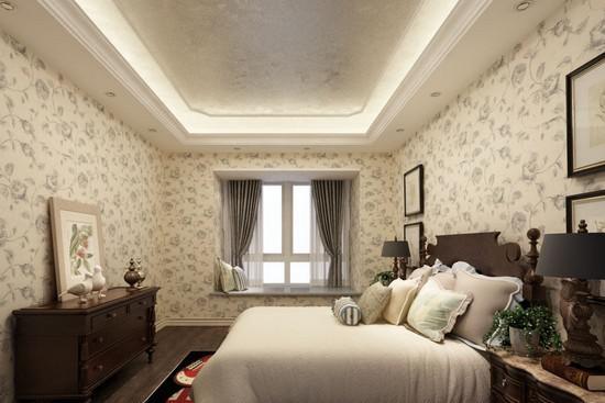 1,卧室墙纸的环保效果很重要