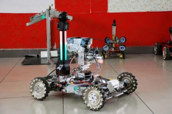 机器人比赛的图片大全