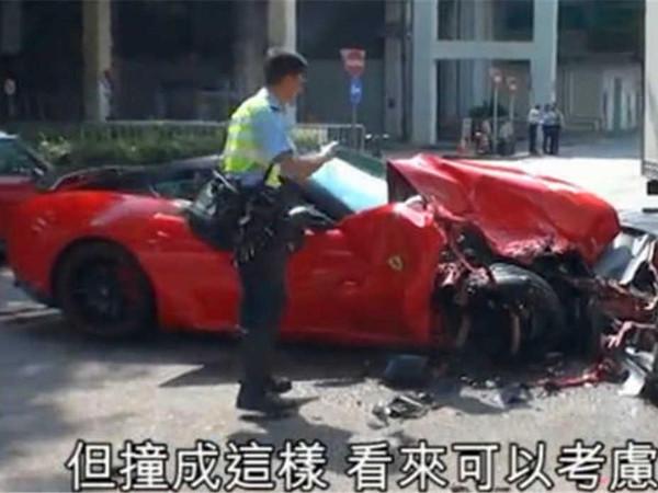 近期法拉利车祸集锦-搜狐汽车