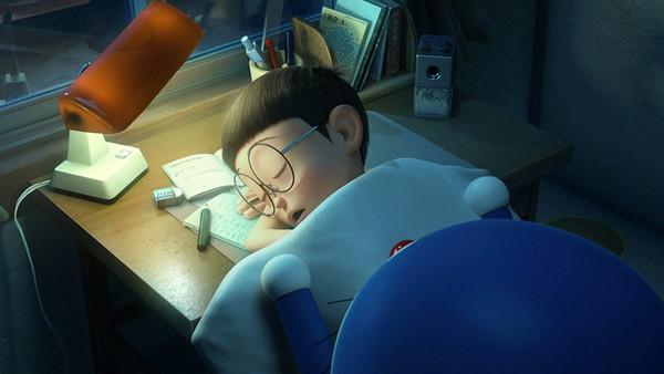 哆啦a梦终究还是要回到未来了,在离开前哆啦a梦决定再为大雄