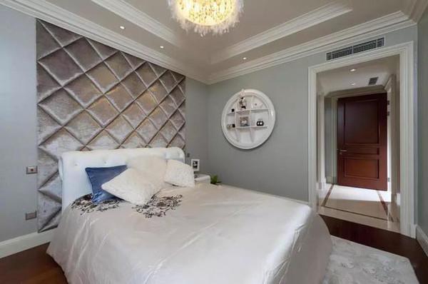 家庭装修欧式风格 86平米精致小公寓简欧风格装修