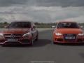 [海外试驾]奔驰AMG C63赛道对战奥迪 RS4