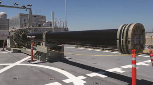 电磁轨道炮视频_联合高速船(jhsv-3)上装备的32兆焦电磁轨道炮
