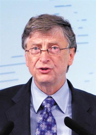 微软公司创始人比尔・盖茨