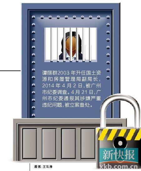 因曹鉴燎案被株连,涉事地块位处珠江新城