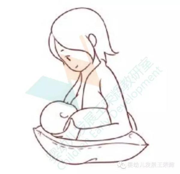 抱古代婴儿 手绘