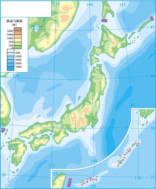 日本囹�a��.X�_黑白的日本地图