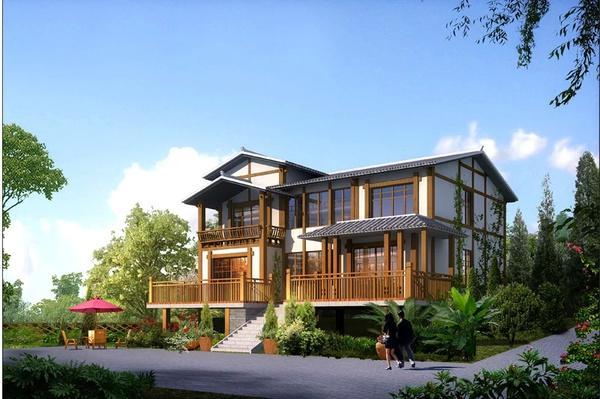 图纸大全农村自建房设计图农村自建二层房设计,别墅装修效果图大全