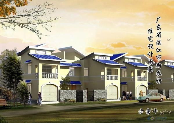 建房设计图农村自建二层房设计