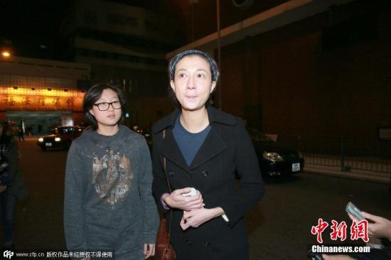 材料图:吴绮莉及女儿吴卓林。 CFP视觉国家