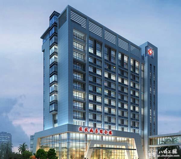 医院大楼设计效果图高清图片