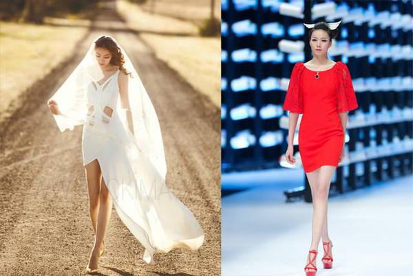 中国最长腿女孩引西方人围观:长不代表美