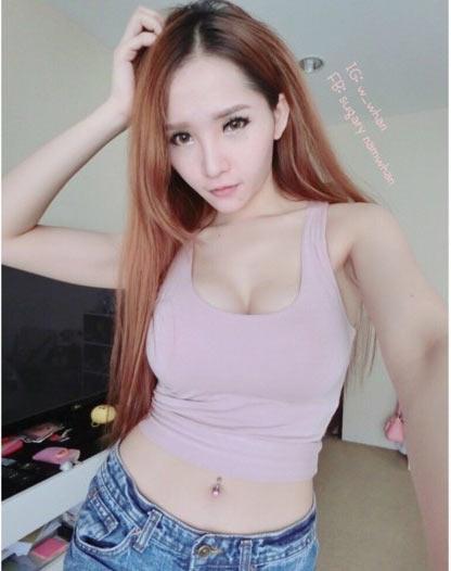 泰国最美校花女神私照曝光 25岁长似芭比娃娃图片