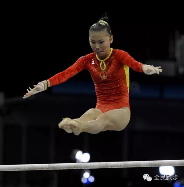 中国 快乐村/前中国女子体操队队员,中国女子体操唯一单项大满贯获得者。
