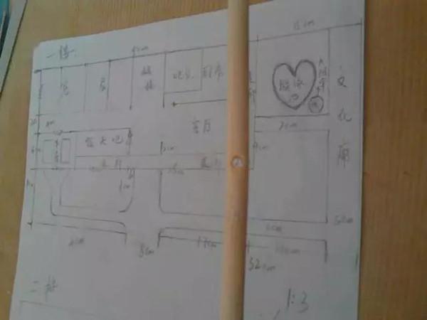 ▼竹签制作精美小房子手工制作diy图纸.