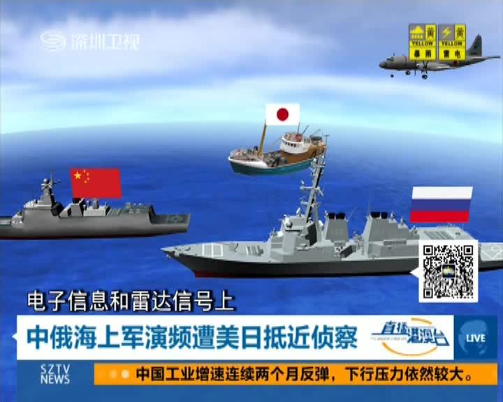 中俄海上军演频遭美日抵近侦察