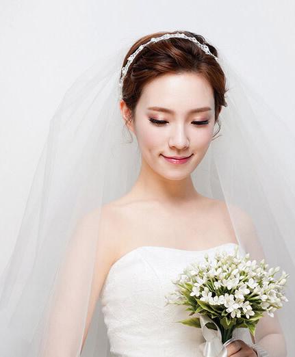 美发街盘点韩式新娘发型!图片