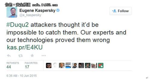 """这款恶意软件确实相当可怕,不过卡巴斯基实验室在博文中提醒攻击者称,""""住在玻璃房子里的人最好不要乱扔石头。"""""""