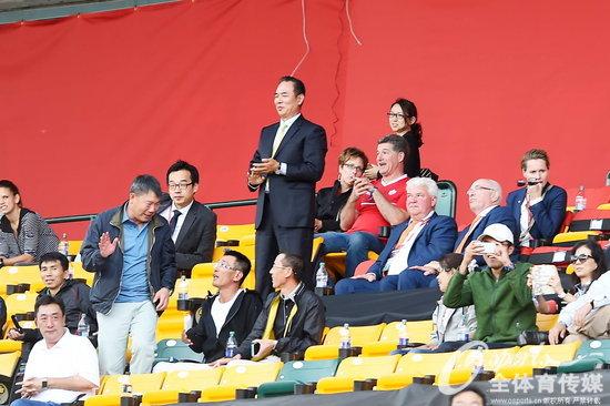 组图:女足世界杯中国1-0绝杀荷兰迎首胜 蔡振华
