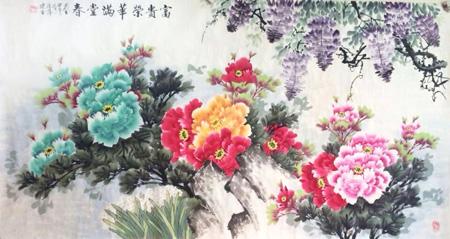 《河南辉煌60年》大型综合性文献画册,2010年被收录于《中国书画家图片