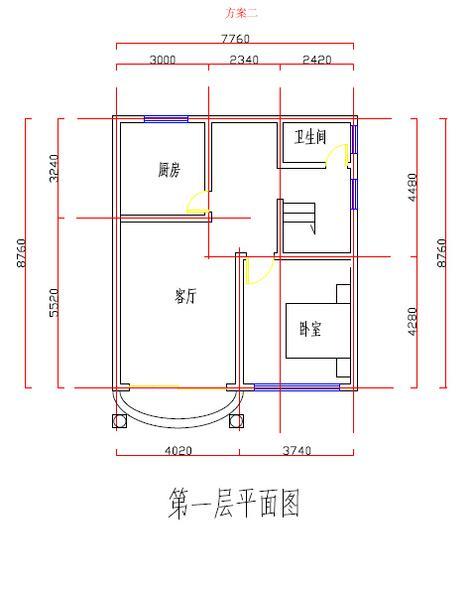 下面是一套农村自建房设计图: 建好自建房,设计图纸是关键,多对比图片