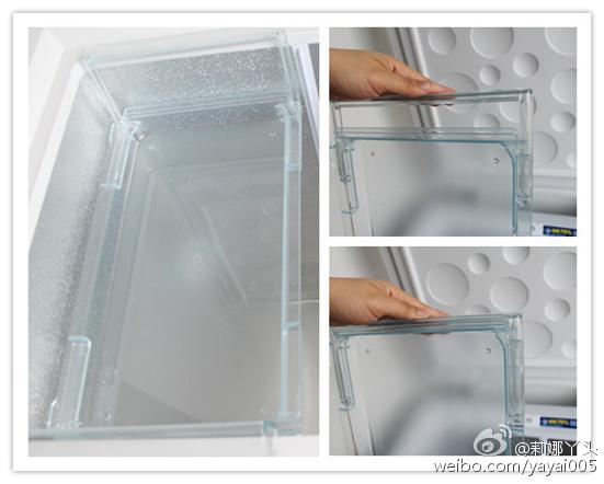 冰柜内部结构图解