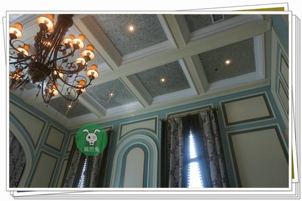 贵阳中航城85平米别墅户型装修样板房效果图高清图片