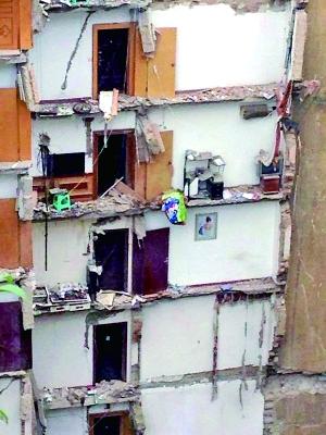 9层住民楼8户垮塌
