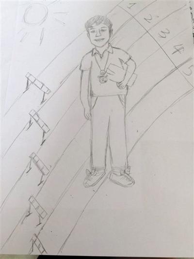 心远中学手绘图
