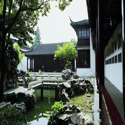 风格:中式别墅庭院