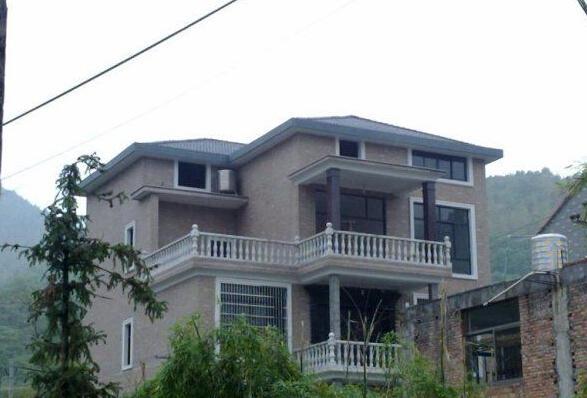 农村盖房子简约设计