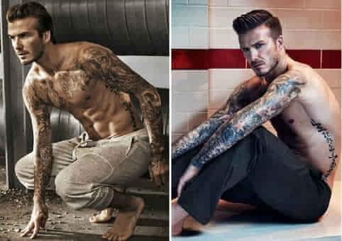 皮肤上的华丽 细数足坛五大纹身运动员图片