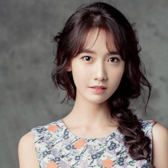 林允儿发型图片 示范清新韩式发型