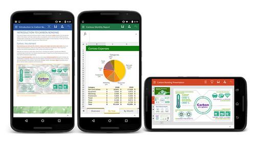 Office办公软件支持在Android系统上使用