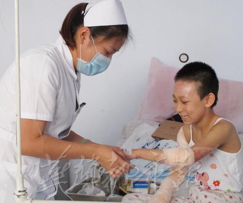 小子涵在病院