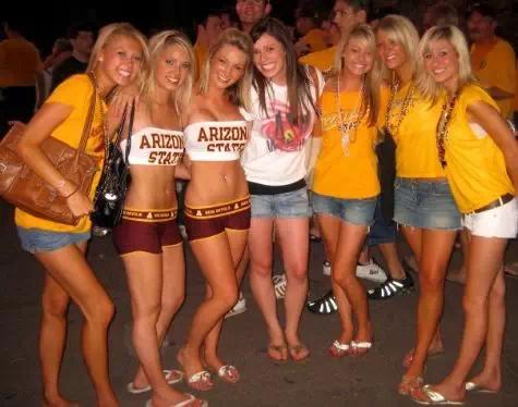 全美大学美女质量排行榜你看过么?