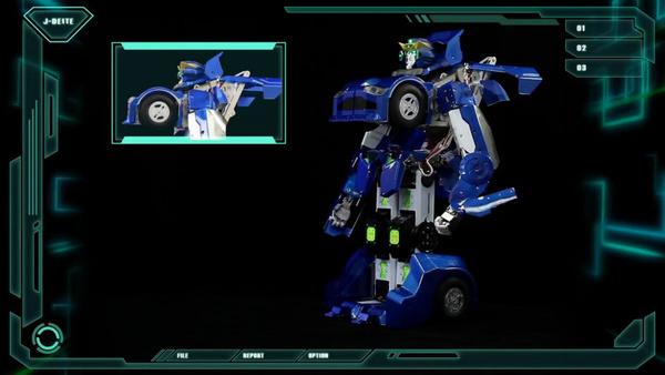 变形金刚机器人,变身汽车时速可达60KM高清图片