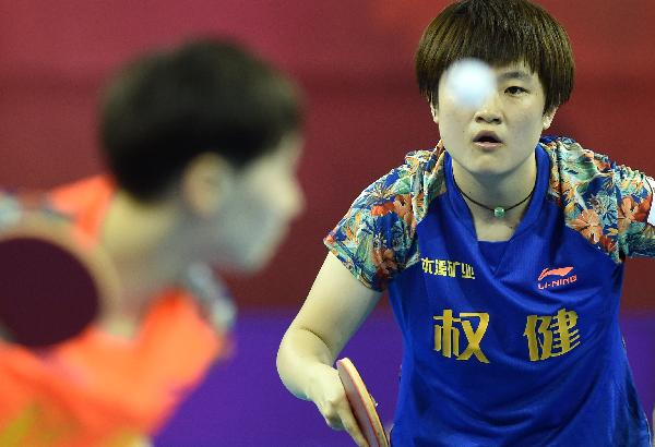 (体育)(7)乒乓球乒超联赛:吉林胜辽宁(图)室内大型攀岩墙图片
