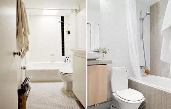 小户型卫生间案例设计图