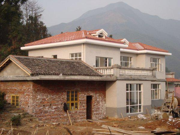 农村自建二层别墅效果图