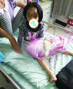 孩儿仍在病院医治