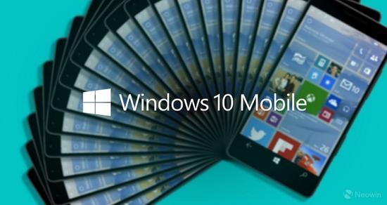 Windows 10 Mobile(图片引自Neowin)
