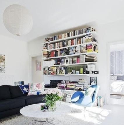 创意书柜设计效果图 美得让人窒息