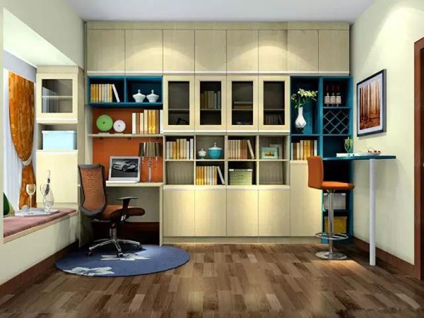 书房设计效果图案例