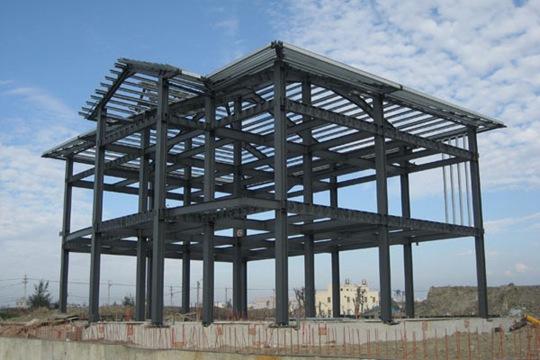 钢结构内部
