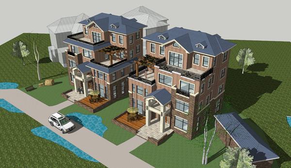 四层欧式别墅设计案例