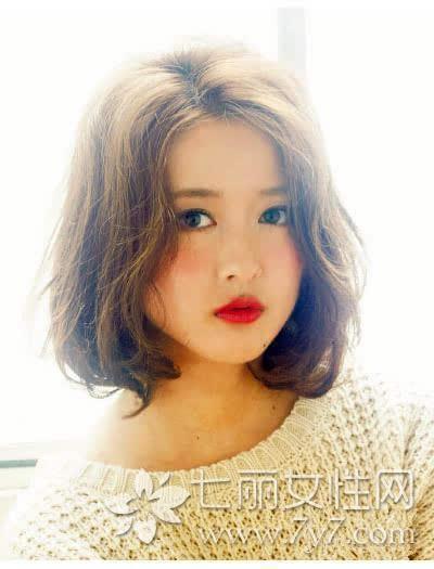 颜色塑造的波波头短发美图完美适合女生轻松把头能发型发圆脸图片