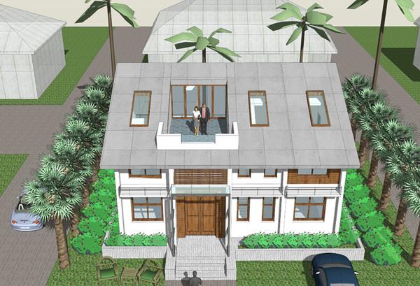 两层农村自建房图纸